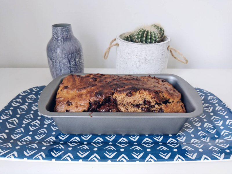 Vegan Chocolate Chip Banana Bread Recipe