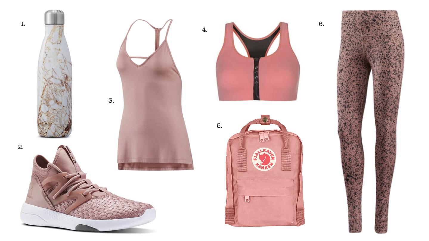 pink activewear